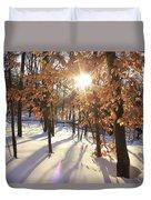 Winter Trees #1 Duvet Cover