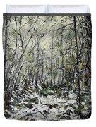 Winter Trees Duvet Cover