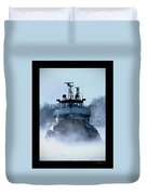 Winter Tug Duvet Cover