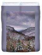 Winter Valley Duvet Cover