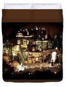 Winter Village Duvet Cover