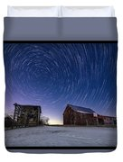 Winter Vortex Duvet Cover