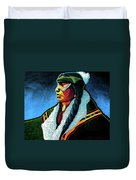 Winter Warrior Duvet Cover