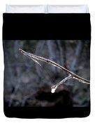 Winter Web. Duvet Cover