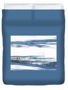 winter weeds SCN M 80 Duvet Cover