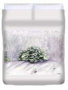 Winter Wind Duvet Cover