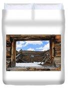 Winter Window 2 Duvet Cover