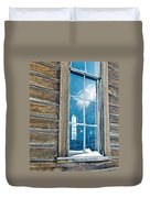 Winter Windows Duvet Cover