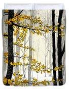 Winter Woods Duvet Cover