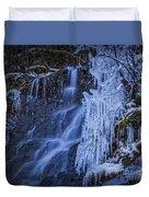 Winterfalls Duvet Cover