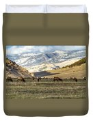 Wintering Grounds Duvet Cover