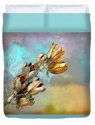 Winters Day Desert Yucca Duvet Cover