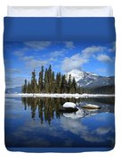 Winters Mirror Duvet Cover