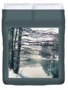 Winter's Reach II Duvet Cover