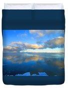 Winter's Refection Duvet Cover