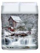 Winter's Rest Duvet Cover