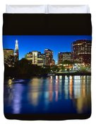 Hartford Lights Duvet Cover