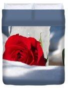 Winters Rose Duvet Cover
