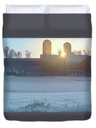 Winter's Welcome Duvet Cover