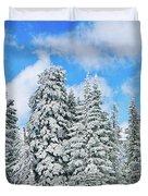 Winterscape Duvet Cover