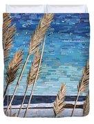 Wintertime On Lake Erie Duvet Cover