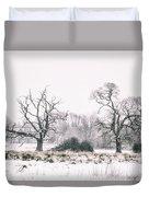 Wintery Morning Duvet Cover