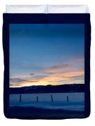 Wintery Sunrises  Duvet Cover