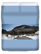 Wintry Mountainscape 1 Duvet Cover