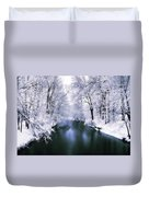 Wintry White Duvet Cover
