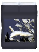 Wintry Wild Oats Duvet Cover