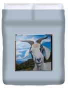 Wip 2- Goats Of St. Martin Duvet Cover