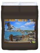 Wip-pelican 08 Duvet Cover