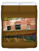 Wire Works Coffee House Duvet Cover