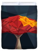 Wired Tree  Duvet Cover