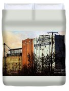 Wisconsin Cold Storage Duvet Cover