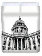 Wisconsin's Capitol Duvet Cover