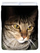 Wise Cat Duvet Cover