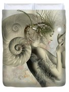 Wish On A Pearl Duvet Cover