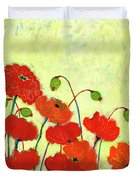 Wishful Blooming Duvet Cover by Jennifer Lommers