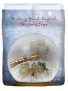 Wishing You A Magical Christmas Time Duvet Cover