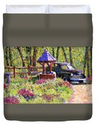 Wishing You Well Duvet Cover