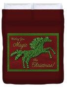 Wishing You Magic This Christmas Duvet Cover