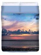 Wispy Cloud Bay Duvet Cover