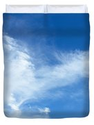Wispy Clouds Duvet Cover