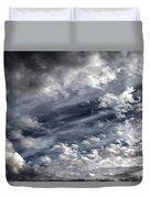 Wispy Skies Duvet Cover