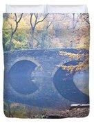 Wissahickon Creek At Bells Mill Rd. Duvet Cover