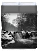 Wissahickon Snow Duvet Cover