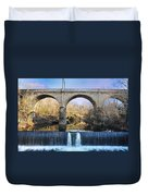 Wissahickon Viaduct Duvet Cover