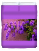 Wisteria At Sunset Duvet Cover