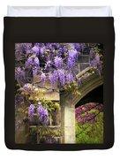 Wisteria Blossom Duvet Cover